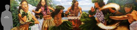 Mural On A Wall polynesian mural