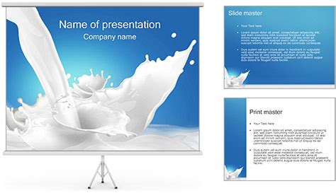 presentation themes for milk milk powerpoint template backgrounds id 0000000624