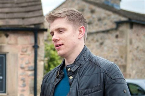 who is leaving emmerdale is robert sugden leaving emmerdale daily star