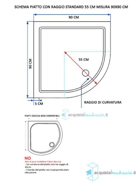 vendita box doccia vendita box doccia semicircolare 90x90 cm serigrafato