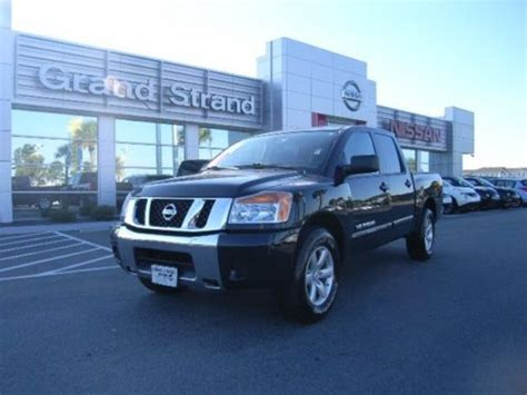 certified pre owned nissan titan purchase used 2012 nissan titan sv crew cab 4 door