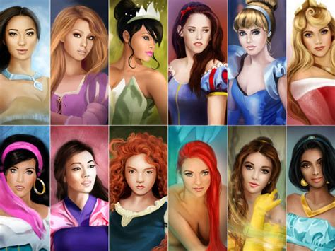 How To Find Who Look Like You Which Disney Princess Do You Look Like Playbuzz