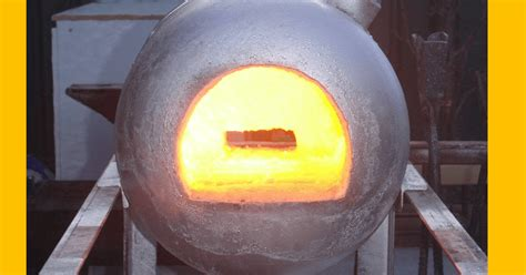 Diy Small Propane Forge Tips And Tricks In Simple Gas Forge Out Of