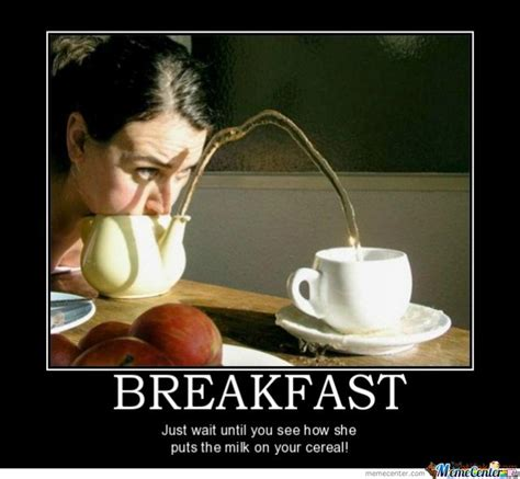 Funny Breakfast Memes - breakfast by baka72 meme center