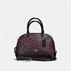 Tas Coach Original Coach Mini Ranch Floral Bright 1 coach handbags coach handhandbag