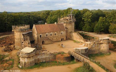 Medieval House Plans by Saint Fargeau Castle Castle Farm