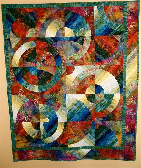 Circular Quilt Patterns by Modern Quilt Relish Circle Obsession