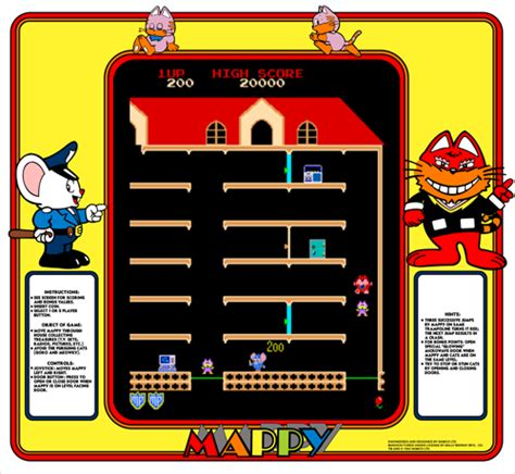 Mappy Arcade Cabinet by Mappy Us Rom
