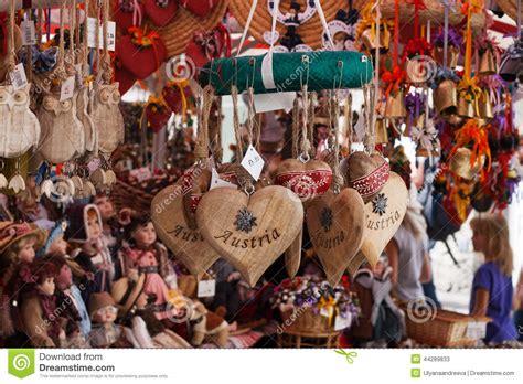 souvenirs of austria stock image image of tourism classic 44289833