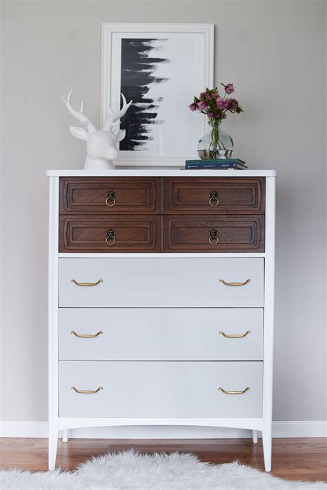 tall grey dresser tall and modern mid century dresser in white wood grey
