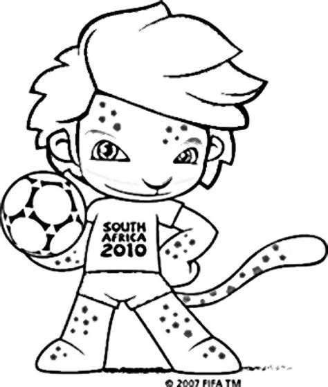 coloring pages fifa world cup fifa free colouring pages