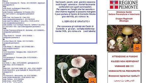 asl via della consolata roma quot attenti ai funghi quot dopo gli avvelenamenti collettivi l