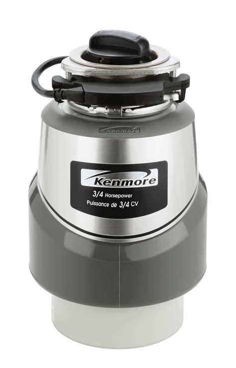 Kenmore Garbage Disposer 3/4 hp 60560   Sears