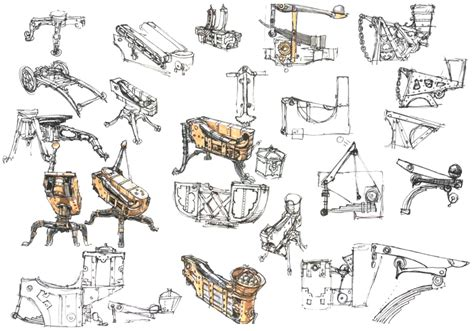 Home Design Drawing machine sketches video games artwork