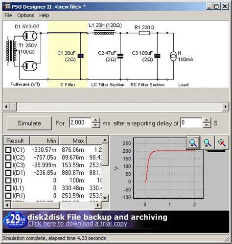 capacitor input output voltage diy 6c45 lifier