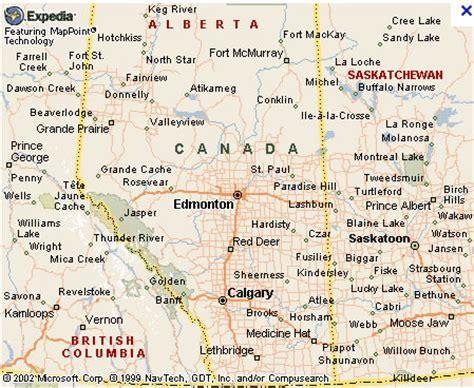 Edmonton Map And Edmonton Satellite Image