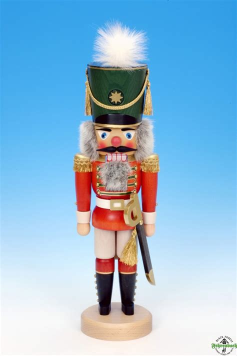 christian ulbricht nutcracker red soldier glazed