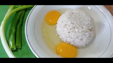 nasi telur viral  korea nasi goreng telur mudah