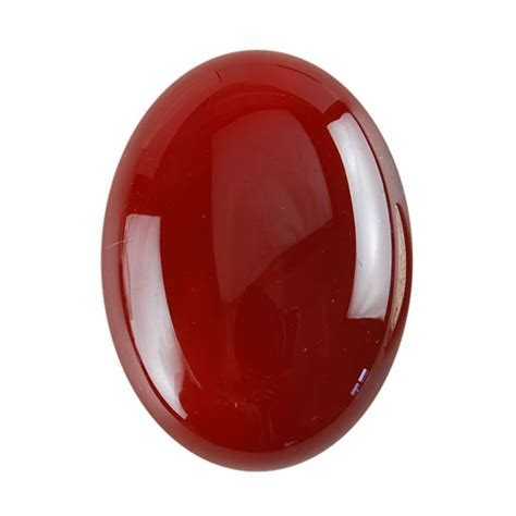 Natural Carnelian Gemstone   Cabochon Oval 22x30mm   Pak of 1