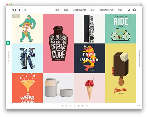 photo portfolio themes free 20 masonry grid style wordpress themes 2017 colorlib