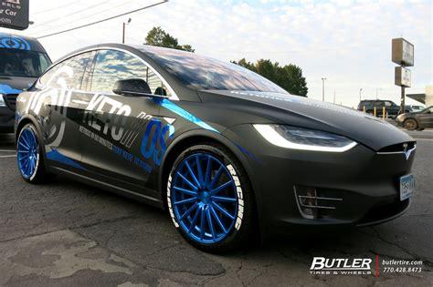 tesla model    vossen vfs wheels exclusively  butler tires  wheels  atlanta