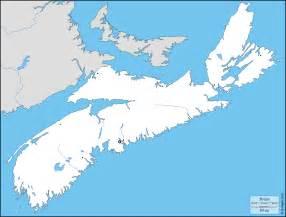 Map Of Nova Scotia Canada by Nova Scotia Map Outline Images