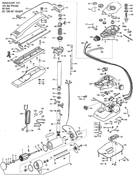 minn kota riptide parts diagram 101 minn kota 765mx parts
