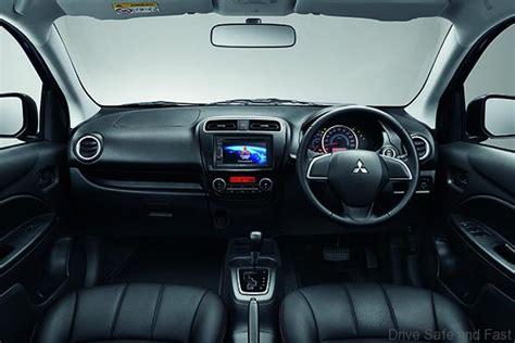 mitsubishi attrage 2016 interior mitsubishi attrage upmarket passenger cabin drive safe