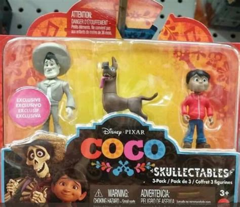 new disney / pixar 'coco' toys from mattel spotted   the
