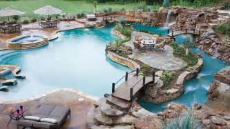 Lazy River Pools For Your Backyard Lazy River Pool My Dream Waterin Hole Pinterest