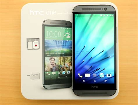 dual htc one m8 htc one m8 dual sim unboxing