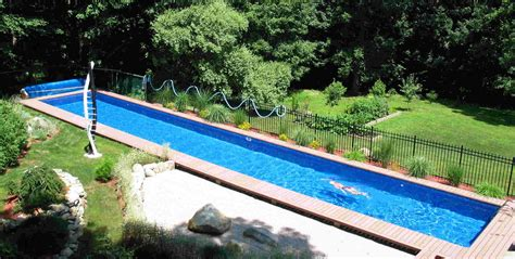 Diy Inground Swimming Pool Backyard Design Ideas Diy Backyard Pool