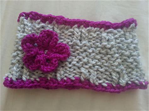 knitting loom ear warmer pattern ravelry loom knit ear warmer collection pattern by amelia