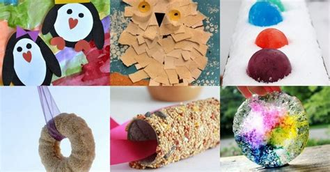 winter crafts for to make quot snow quot many simple winter crafts for to make