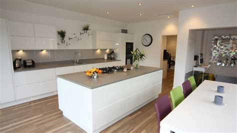 Black Gloss Kitchen With White Worktops by White Gloss Kitchen Droitwich Kitchens Driotwich