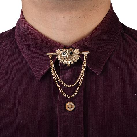 Chain Collar Brooch popular gold tie chain buy cheap gold tie chain lots from