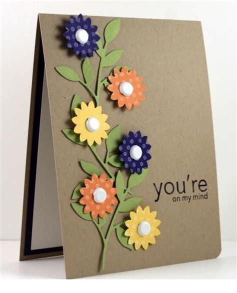 New Ideas For Handmade Cards - authentic handmade decorating cards trendy mods