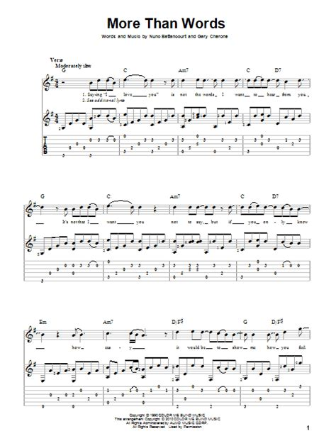 tutorial guitar more than words more than words by extreme solo guitar guitar instructor