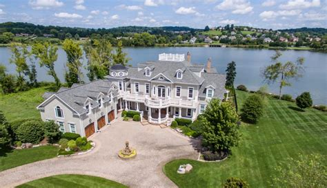 million waterfront mansion  knoxville tn homes
