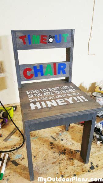 diy childs time  chair myoutdoorplans