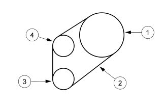 2002 ford taurus serpentine belt diagram 2002 taurus serpentine belt diagram ford forum