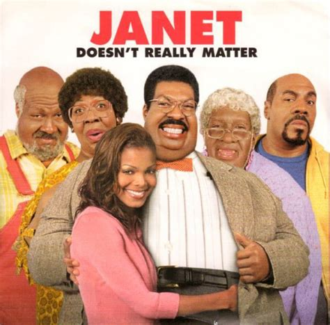Janet Jackson Doesnt What A Shopping Cart Is by Janet Doesn T Really Matter Cd At Discogs