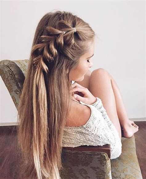 braid hairstyles for long hair pinterest 20 girly hairstyles you must love loose side braids