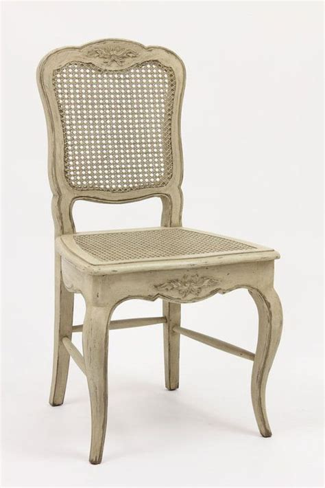 french country cane dining chairs antique white
