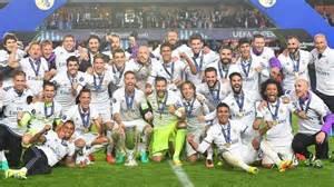le real madrid remporte la coupe d europe de football
