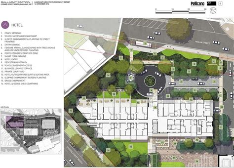 hotel design layout and landscaping 44m hotel project by dbi to kick start ballarat s