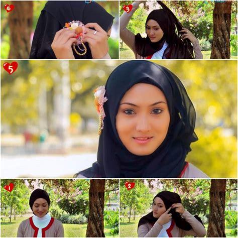 tutorial hijab paris untuk santai tutorial hijab paris yang mudah dan sederhana untuk acara