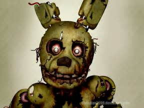 Five nights at freddy s 3 springtrap by christian2099 on deviantart