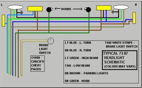 81 corvette headlight wiring diagram get free image