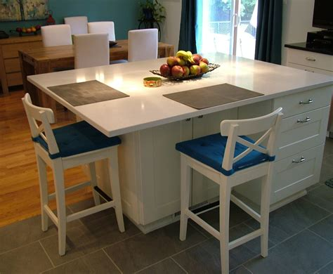 Kitchen Islands With Seating For 4 Ikea Kitchen Islands With Seating Images